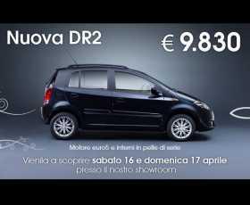 Nuova DR2. Motori EURO5 e interni in pelle...di serie!
