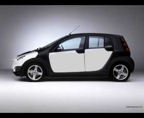 Smart forfour completamente in carbonio!